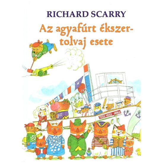 Richard Scarry - Az agyafúrt ékszertolvaj esete