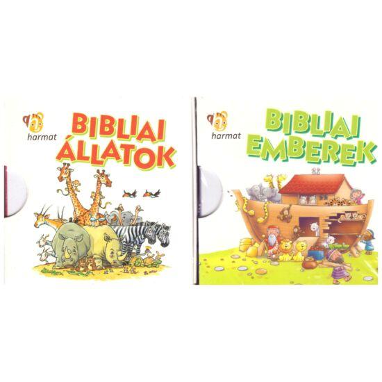 Bibliai állatok – dobozos könyvek