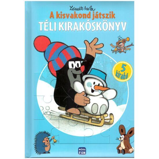 Zdenek Miler - A kisvakond játszik - Téli kirakóskönyv