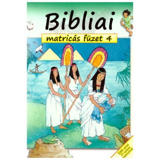 Bibliai matricás füzet 4.