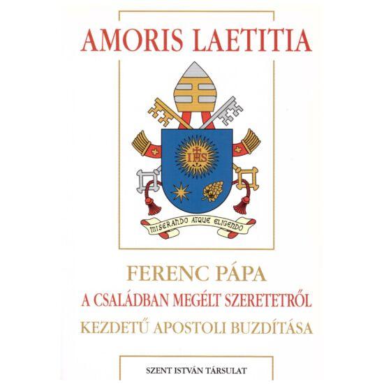 Ferenc pápa - Amoris laetitia - A családban megélt szeretetről